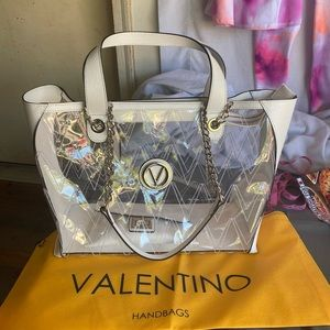 The Valentino Kate Crystal Handbag. Authentic NWT